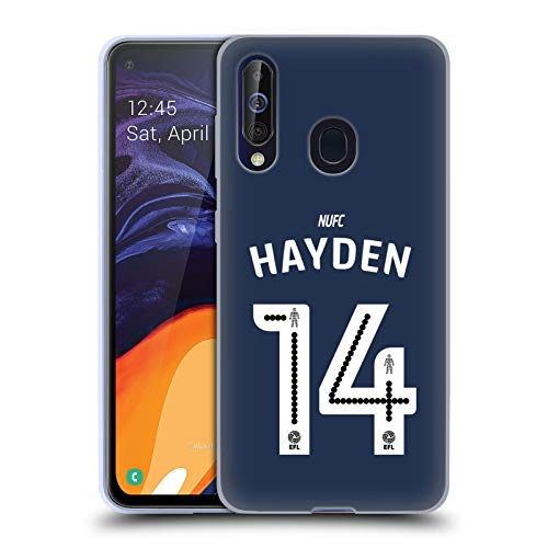 nited FC NUFC Hayden 2016/17 Players Away Kit 2 Soft Gel Case Compatible for Samsung Galaxy A60 (2019) ()