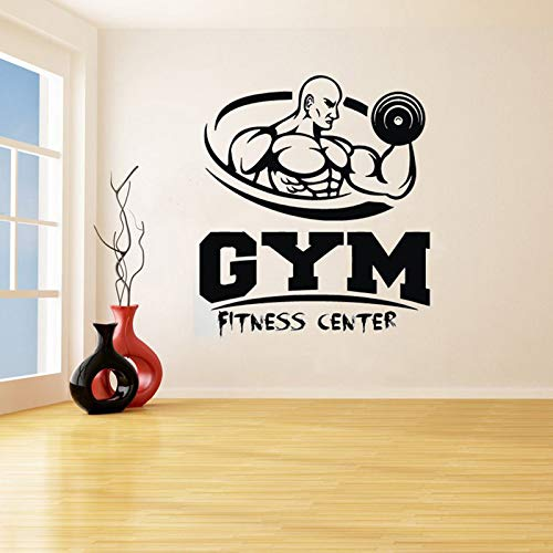 hllhpc Gym Removeable Arte Vinilo Etiqueta de La Pared ...