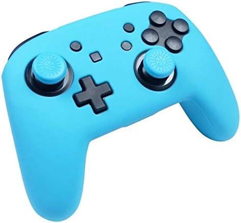 Subsonic - Funda de Silicona para Mando, Color Azul Neón (Nintendo Switch): Amazon.es: Videojuegos