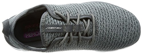 on Grey 12773 Charcoal Trainers Skechers Slip Women's 8Agtqxxw7