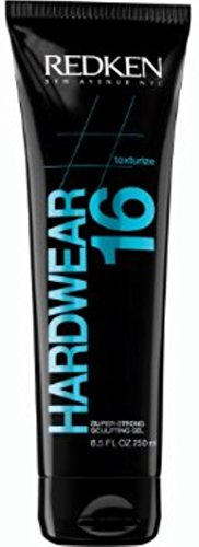 Redken Hardwear 16 Super Strong Sculpting Gel, 8.5 oz (Pack of 11) by REDKEN