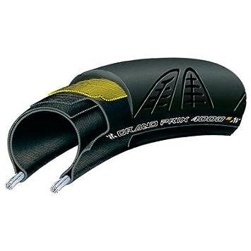 Continental GP4000 S - Cubierta para rueda de bicicleta (622 x 23 mm, carretera), color negro: Amazon.es: Deportes y aire libre