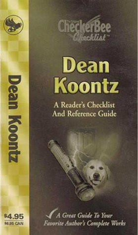Books : Dean Koontz: A Reader's Checklist and Reference Guide (Checkerbee Checklists)