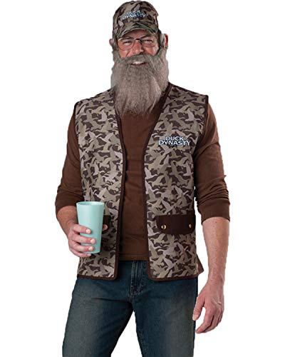 Incharacter Mens Tv Characters Duck Dynasty Uncle Party Fancy Costume, One -