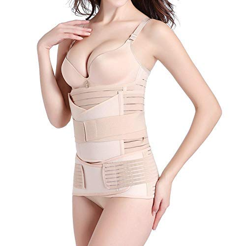662631081 Hip Mall 3 in 1 Postpartum Girdle Support Recovery Belly Wrap Postnatal C-Section  Belt