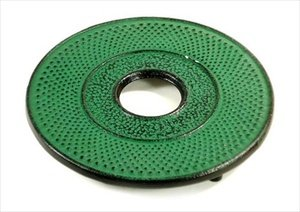 JapanBargain 2024 Cast Iron Hobnail, Green