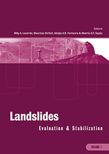 Landslides: Evaluation and Stabilization/Glissement de Terrain: Evaluation et Stabilisation, Set of 2 Volumes: Proceedings of the Ninth International Symposium ... June 28 -July 2, 2004 Rio de Janeiro, Brazil Pdf