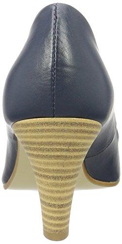 Donna navy Blu Tacco 805 Con 22402 Scarpe oliver S P0wXOn