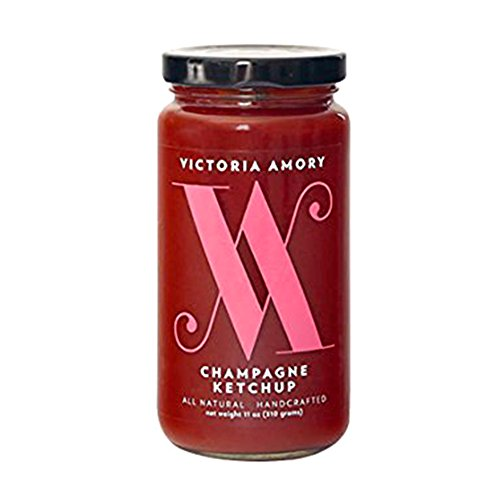 Victoria Amory Ketchup, Champagne, 11 Ounce