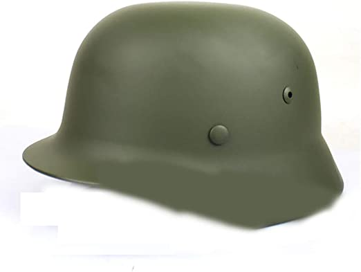 Casco, Todo Acero Segunda Guerra Mundial Casco clásico alemán ...