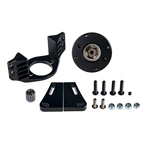 1/10 Metal GearBox 1/5 Planetary Auto Transmission for 1/10 RC Crawler D90 D110 RC4WD Black&Silver
