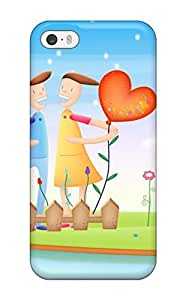 Awesome Together We Love Flip Case With Fashion Design For Iphone 5/5s 5778140K34188518