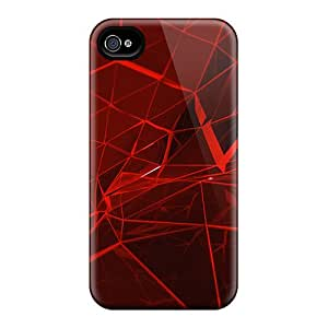 Premium MSw36967PJdC Cases With Scratch-resistant/ Red Web Cases Covers For Iphone 6