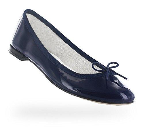 Repetto 17ss Cendrillon Ballerina Classica Vernice Blu