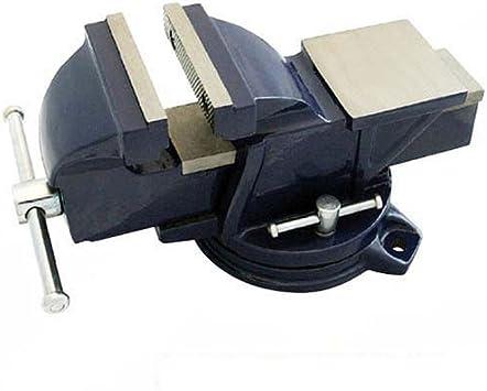 Silverline 580468 Tornillo de Banco con Base Giratoria, Capacidad ...