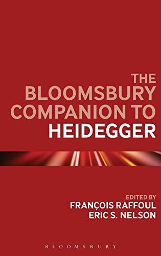 Image of The Bloomsbury Companion to Heidegger (Bloomsbury Companions)