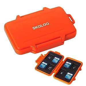 Amazon.com: Skoloo - Tarjetero para tarjetas de memoria ...