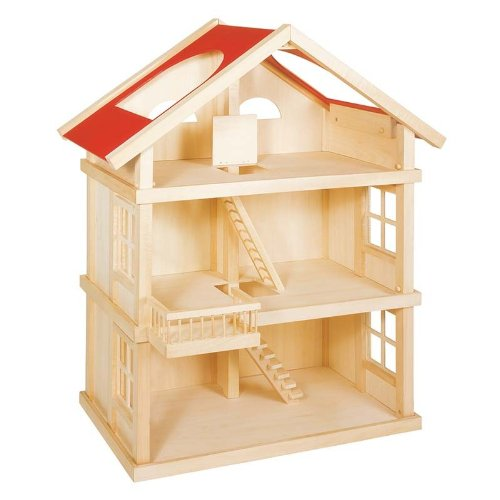 Goki Puppenhaus - Goki 51957 Puppenhaus 3 Etagen