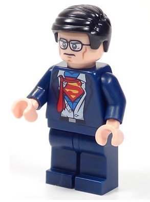 LEGO? Super Heroes Clark Kent / Superman Minifigure by -