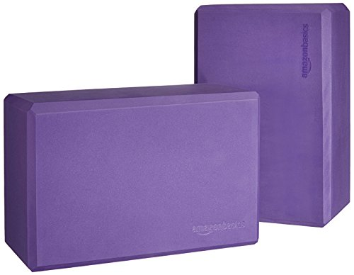 AmazonBasics Yoga Blocks, Set of 2