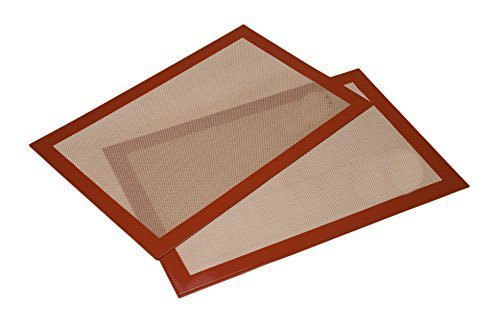 Ziaon (TM) Premium Non-stick Silicone Baking Mat 2 Pack (4228 CM) by Ziaon (Image #1)