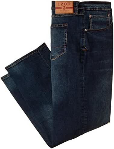 Izod Men's Big & Tall Comfort Stretch Relaxed Fit Jean