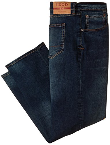 Izod Men's Big & Tall Comfort Stretch Relaxed Fit Jean,  Lexington, 50x30
