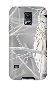 CaseyKBrown KclDyas6343VuMbS Protective Case For Galaxy S5(white Owl)