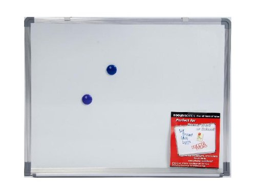 Dooley Boards Aluminum Framed Magnetic Dry Erase Board, 18 x (Aluminum Framed Markerboard)