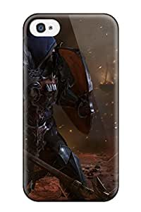 New Snap-on AmandaMichaelFazio Skin Case Cover Compatible With ipod touch 4- Lords Of The Fallen