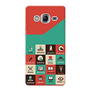 Mobile Back Cover For Samsung Z3 (Printed Designer Case)