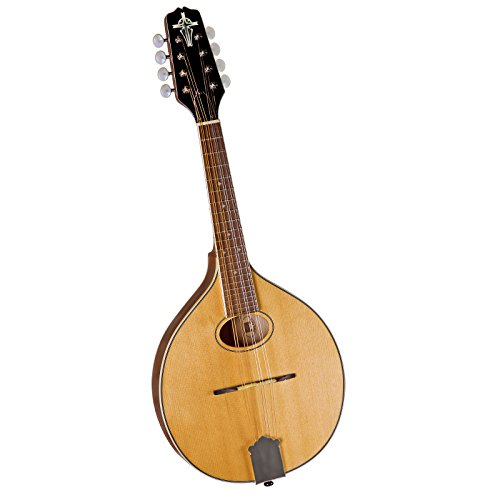 Trinity College TM-250 Standard Celtic Mandolin with Hardshell Case - Natural Top by Trinity College
