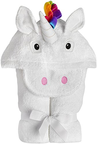 Embroidered Hooded Towel - Yikes Twins Child Hooded Towel - Unicorn