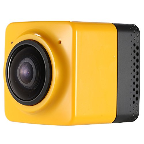 Andoer Mini Cube Action Sports Panorama Camera 360 Degree Wifi 1280 720 24FPS Fisheye Wide View Wide Angle Outdoor Video Camcorder For Sale