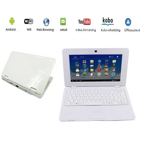 Netbook Laptop Android 4.4 HDMI écr.10 (WiFi-SD-MMC)- for sale  Delivered anywhere in USA