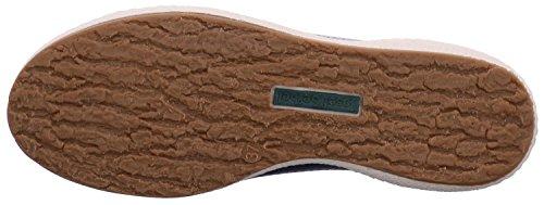 Josef Seibel 7565080913 Caspian Scarpa Casual Da Donna In Pelle, Scarpa Estiva, Scarpa Stringata, Sneaker Blu (500)