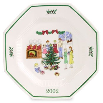 Nikko Christmastime 2002 Collector's Plate