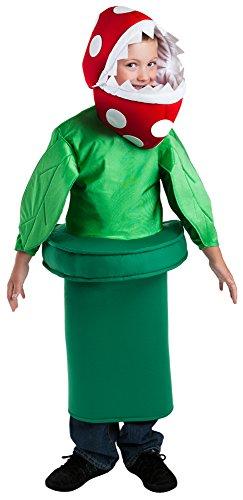 FunFill Child Piranha Plant Costume, Size Small