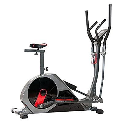 Body Rider BRM8800 Deluxe Magnetic Elliptical Dual Trainer with Seat