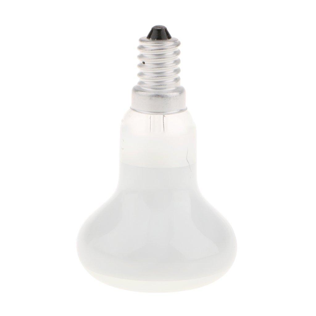 Transparent as Described MagiDeal 10x R39//R50 Reflector Type Spotlight Bulb Lava Lamp Light Bulbs Replacement E14 R50-40W