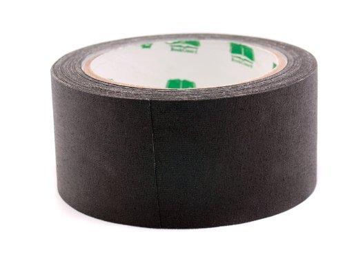 2' Black Colored Premium-Cloth Book Binding Repair Tape | 15 Yard Roll (BookGuard Brand)