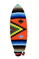 This surf sock is handmade by local townspeople and supports small independent artisans in developing countries (This is NOT made in a large factory, it is individually crafted by hand!). This board bag adds a little extra flavor and steez to...