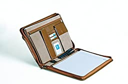 Deluxe Organizer Padfolio for 11-inch Laptop, Letter (A4) Paper, Left-Hand / Right-Hand Use