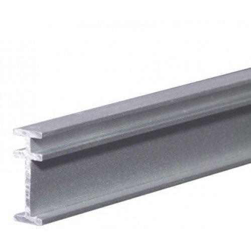 RECMAR 4108 Bendable I Beam Curtain Track - 8 Feet Silver