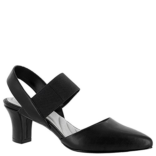 Easy Street Women's Vibrant Dress Pump, Black, 7.5 W US