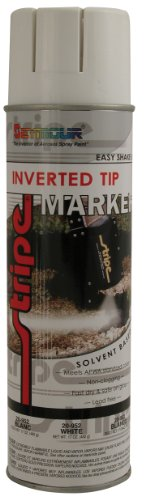 Seymour 20-952 Stripe Solvent Base Inverted Tip Marker, White