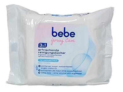 Bebe Young Care 3 in1 Toallitas paños de limpieza, 25 Paños (H2/9