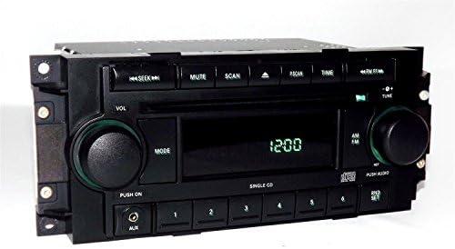 Amazon Jeep Dodge Chrysler Radio 20042010 Am Fm Cd Aux Mp3 Rhamazon: Oem Radios For Jeep At Gmaili.net