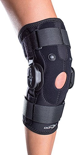 DonJoy Drytex Hinged Air Knee Brace, Large