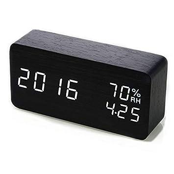 Amazon.es: DJDEA Reloj Despertador Digital, Reloj Despertador ...